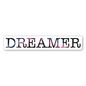 Bloggy dreamer sticker