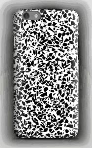 Grafisk terazzo sorthvid cover IPhone 6s
