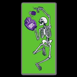 SEND HELP grave sticker
