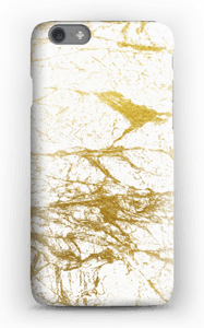 Love this gold and white design, make sure to add your name to make it custom!