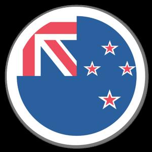 New Zealand Flag Sticker