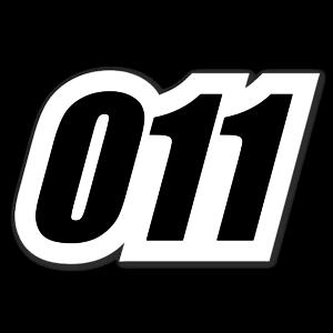 011 sticker