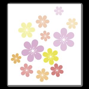 Beautiful flowers sticker