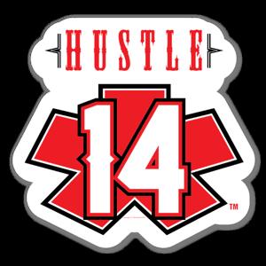 Blacklisted HustleRed sticker