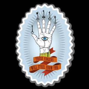 Ohber Fingers sticker