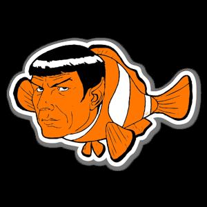 Don Calamari Find Nemoy sticker