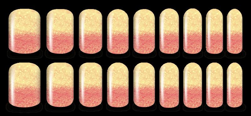 Shimmer nail
