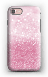 Pink Glitter case IPhone 7 tough