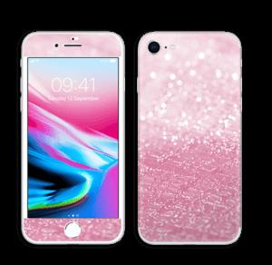 Pink Glitter Skin IPhone 8