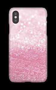 Pink Glitter case IPhone X