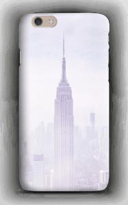 New York skyline på ett skal för iPhone eller Samsung