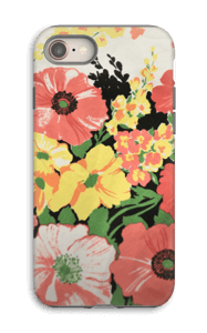 Flowers case IPhone 8 tough
