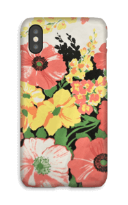 Flowers case IPhone X