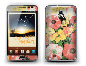 Flowers Skin Galaxy Note