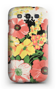 Flowers case Galaxy S3