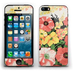 Flowers Skin IPhone 5s