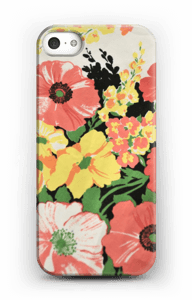 Flowers case IPhone SE