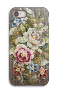Embroidered  case IPhone 8 tough