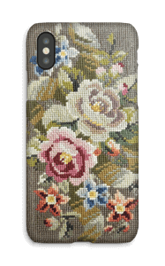 Embroidered  case IPhone X