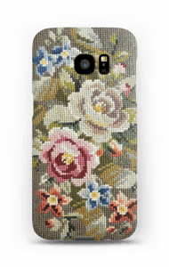 Embroidered  case Galaxy S7 Edge