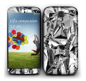 Aluminum Skin Galaxy S4