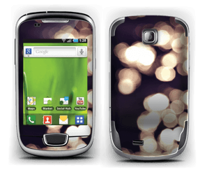 Flashing Lights Skin Galaxy Mini