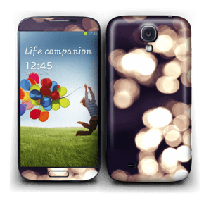 Flashing Lights Skin Galaxy S4