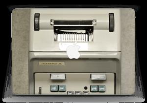 """Old Typewriter Skin MacBook Air 13"""""""