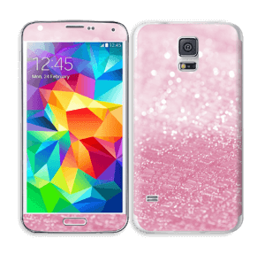 Pink Texture Skin Galaxy S5