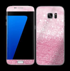 Pink Texture Skin Galaxy S7 Edge