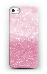 Pink Texture case IPhone 5/5S