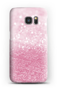 Pink Texture case Galaxy S7