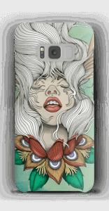 Blumenmädchen Handyhülle Galaxy S8