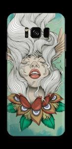 Blumenmädchen Skin Galaxy S8