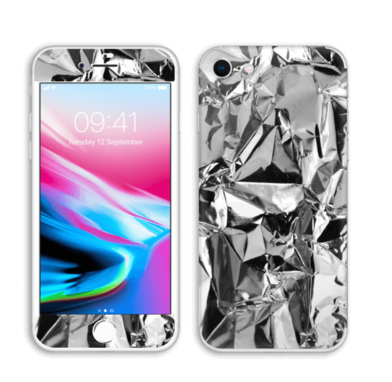 Aluminium Skin IPhone 8