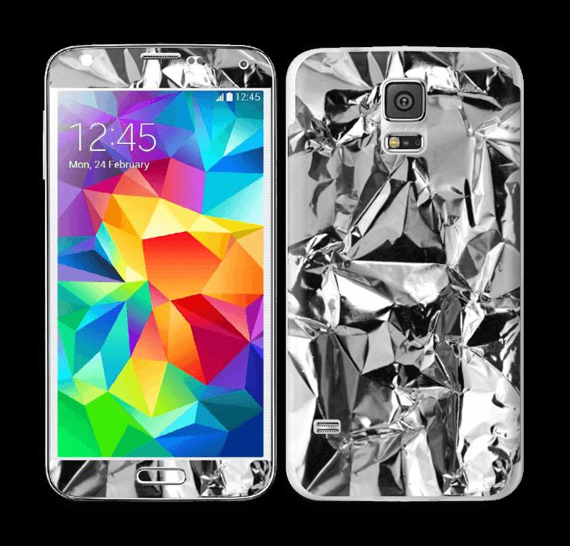 Aluminium Skin Galaxy S5