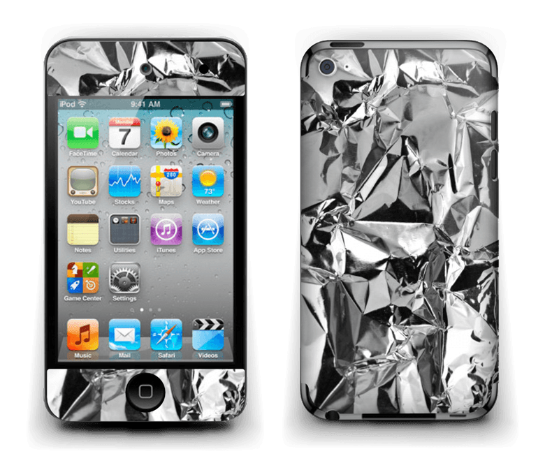 Aluminium Skin IPod Touch 4th Gen