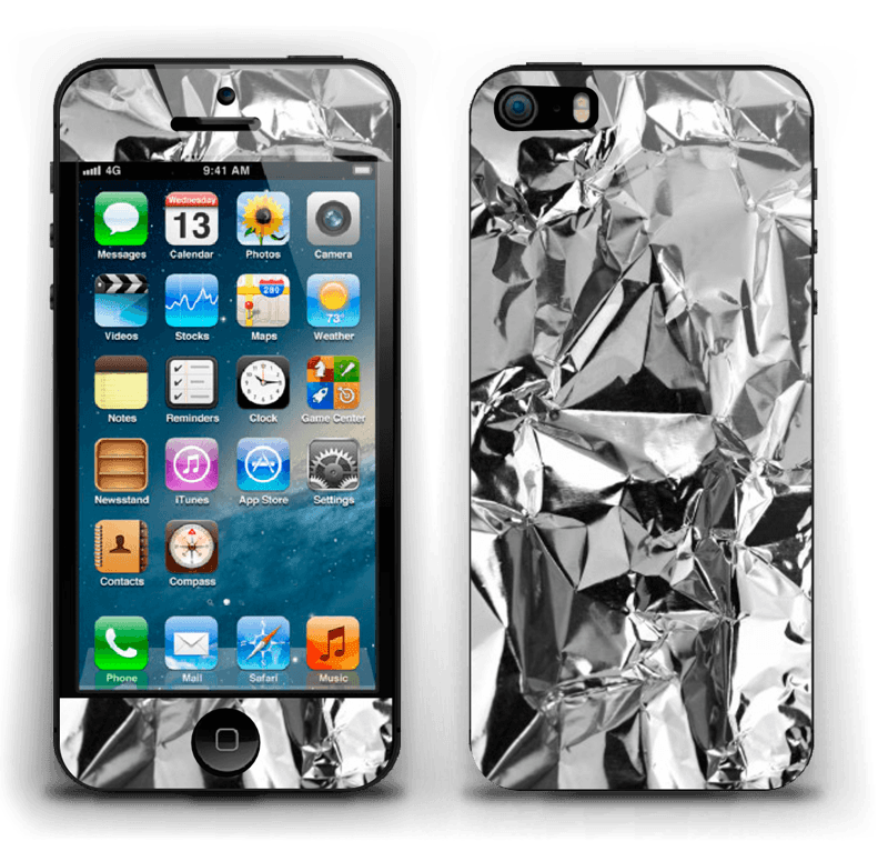 Aluminium Skin IPhone 5s