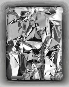Aluminium deksel IPad 4/3/2