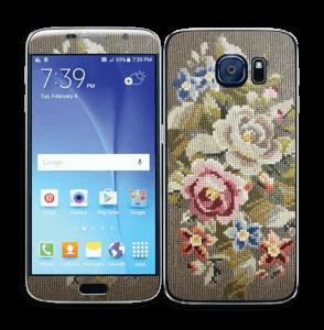 Vakre broderier Skin Galaxy S6