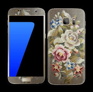 Vakre broderier Skin Galaxy S7