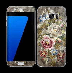 Vakre broderier Skin Galaxy S7 Edge