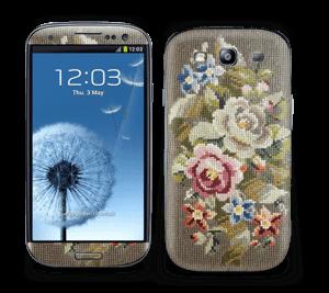 Vakre broderier Skin Galaxy S3