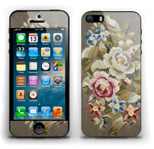 Vakre broderier Skin IPhone 5s