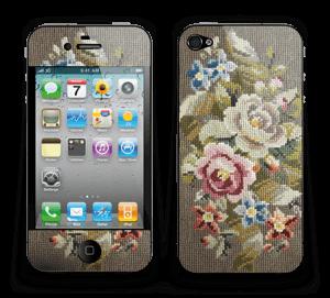 Vakre broderier Skin IPhone 4/4s