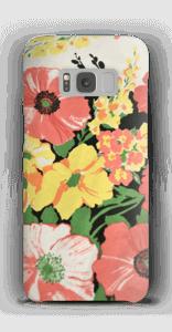 Vintage blomstermønstre deksel Galaxy S8