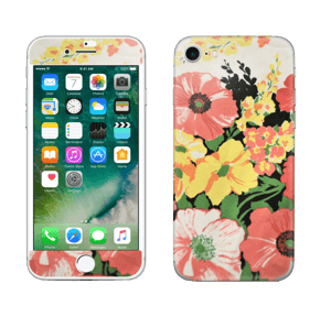 Vintage blomstermønstre Skin IPhone 7