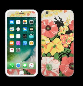 Vintage blomstermønstre Skin IPhone 6 Plus