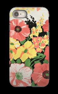 Vintage blomstermønstre deksel IPhone 8 tough