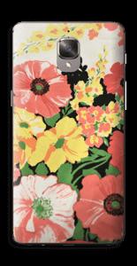 Vintage blomstermønstre Skin OnePlus 3